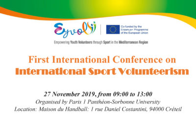 In Paris, EYVOL Conference on International Sport Volunteerism