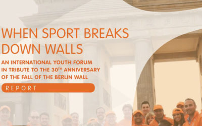 """Save the Dream and """"When Sport Breaks Down Walls"""""""