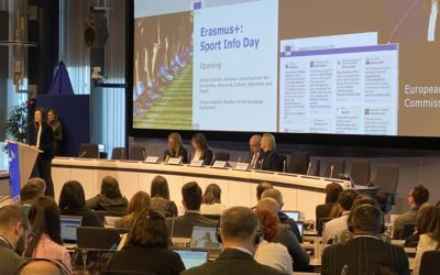 Erasmus+ Sport Info Day: a day of networking and guidelines