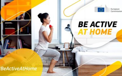 EU Commission launches the campaign #BeActiveAtHome