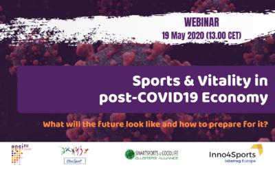 "Webinar ""Sports & Vitality in post-COVID19 Economy"""