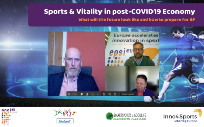 "More than 100 people at webinar ""Sports & Vitality in post-COVID19 Economy"""