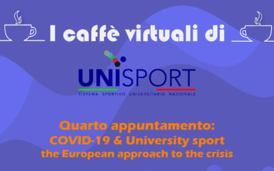 "29th May: Italian Webinar by Unisport Italia: ""Covid-19 and University Sport"""