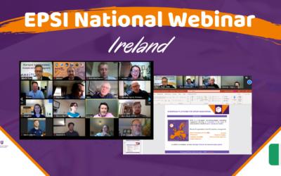 EPSI National Webinars made their debut with Irish Organizations
