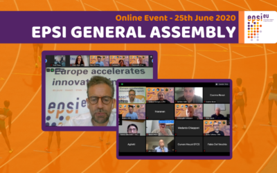 Projecting an #InnovateSport future: EPSI General Assembly took place online