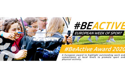#BeActive Awards 2020 in a fully online event on 8 December