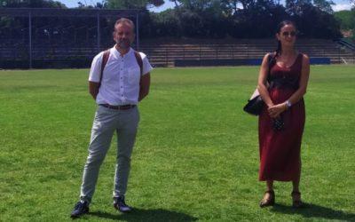 Alberto Bichi visits Comune di Piombino Sport Facilities