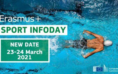 New date for Erasmus+ Sport Info Day 2021