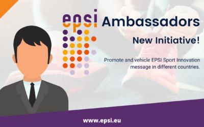 New Initiative: EPSI Ambassador to promote Sport Innovation